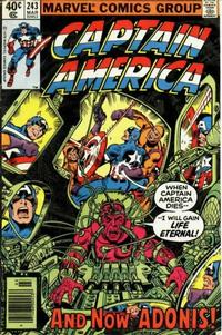 Cover for Captain America (1968 series) #243 [British]