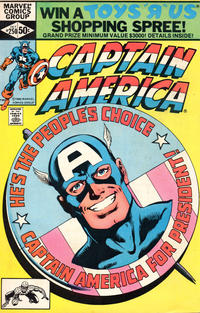 Cover Thumbnail for Captain America (Marvel, 1968 series) #250 [Direct Edition]