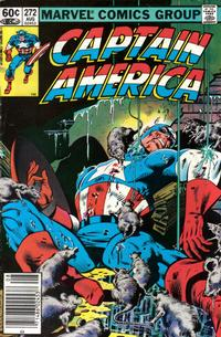 Cover Thumbnail for Captain America (Marvel, 1968 series) #272 [Newsstand Edition]