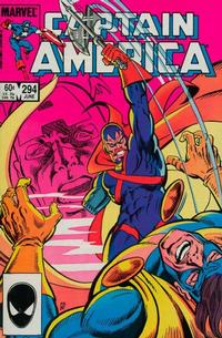 Cover Thumbnail for Captain America (Marvel, 1968 series) #294 [Direct Edition]