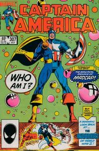 Cover Thumbnail for Captain America (Marvel, 1968 series) #307 [Direct Edition]