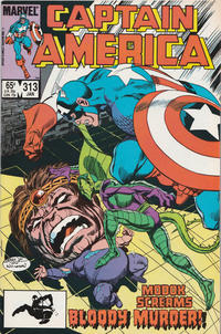 Cover Thumbnail for Captain America (Marvel, 1968 series) #313 [Direct Edition]