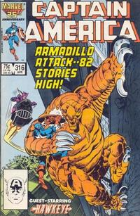 Cover Thumbnail for Captain America (Marvel, 1968 series) #316 [Direct Edition]