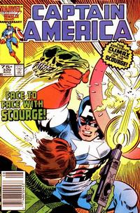 Cover Thumbnail for Captain America (Marvel, 1968 series) #320 [Newsstand Edition]