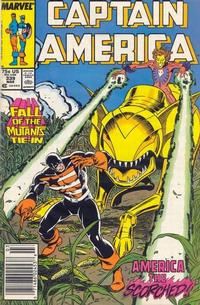 Cover Thumbnail for Captain America (Marvel, 1968 series) #339 [Newsstand]