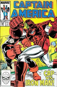 Cover Thumbnail for Captain America (Marvel, 1968 series) #341 [Direct Edition]