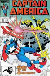 Cover Thumbnail for Captain America (Marvel, 1968 series) #343 [Direct Edition]