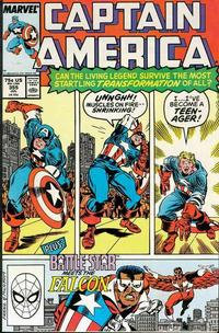 Cover Thumbnail for Captain America (Marvel, 1968 series) #355 [Direct Edition]