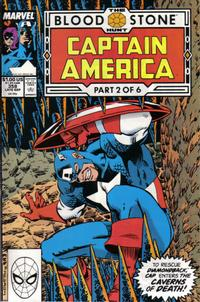 Cover Thumbnail for Captain America (Marvel, 1968 series) #358 [Direct Edition]