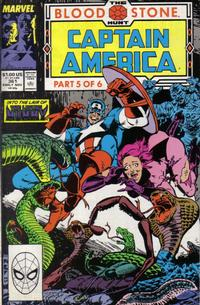 Cover Thumbnail for Captain America (Marvel, 1968 series) #361 [Direct Edition]