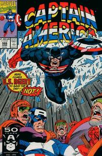 Cover Thumbnail for Captain America (Marvel, 1968 series) #386 [Direct Edition]
