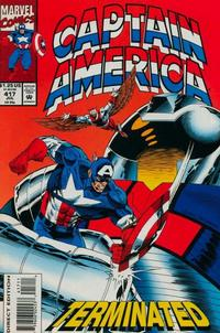 Cover Thumbnail for Captain America (Marvel, 1968 series) #417 [Direct Edition]
