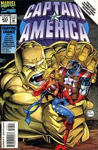 Cover Thumbnail for Captain America (Marvel, 1968 series) #433 [Direct Edition]