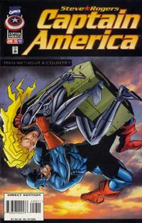 Cover Thumbnail for Captain America (Marvel, 1968 series) #452 [Direct Edition]