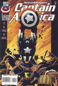 Cover Thumbnail for Captain America (Marvel, 1968 series) #453 [Direct Edition]