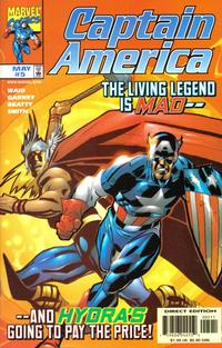 Cover Thumbnail for Captain America (Marvel, 1998 series) #5 [Direct Edition]