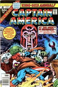 Cover Thumbnail for Captain America Annual (Marvel, 1971 series) #4
