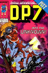 Cover Thumbnail for D.P. 7 (Marvel, 1986 series) #18