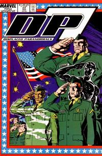 Cover Thumbnail for D.P. 7 (Marvel, 1986 series) #22