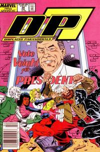 Cover Thumbnail for D.P. 7 (Marvel, 1986 series) #28