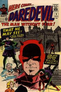 Cover Thumbnail for Daredevil (Marvel, 1964 series) #9