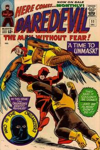 Cover Thumbnail for Daredevil (Marvel, 1964 series) #11 [Regular Edition]