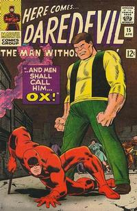 Cover Thumbnail for Daredevil (Marvel, 1964 series) #15