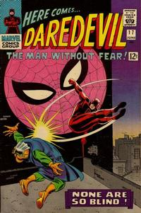 Cover Thumbnail for Daredevil (Marvel, 1964 series) #17