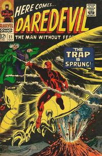 Cover Thumbnail for Daredevil (Marvel, 1964 series) #21