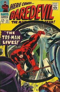 Cover Thumbnail for Daredevil (Marvel, 1964 series) #22