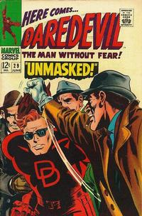 Cover for Daredevil (Marvel, 1964 series) #29 [Regular Edition]