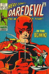 Cover Thumbnail for Daredevil (Marvel, 1964 series) #53 [Regular Edition]