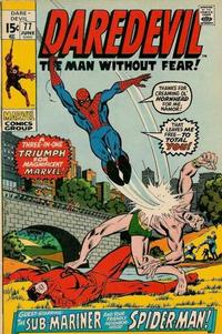 Cover for Daredevil (Marvel, 1964 series) #77