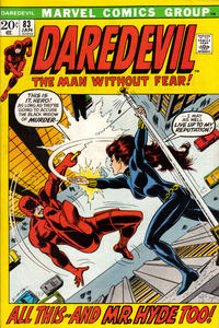 Cover Thumbnail for Daredevil (Marvel, 1964 series) #83