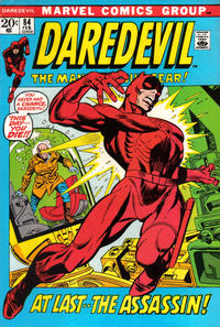 Cover Thumbnail for Daredevil (Marvel, 1964 series) #84 [Regular Edition]