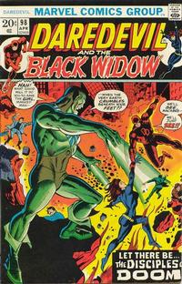 Cover Thumbnail for Daredevil (Marvel, 1964 series) #98 [Regular Edition]