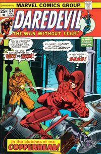 Cover Thumbnail for Daredevil (Marvel, 1964 series) #124