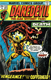 Cover for Daredevil (Marvel, 1964 series) #125 [Regular Edition]