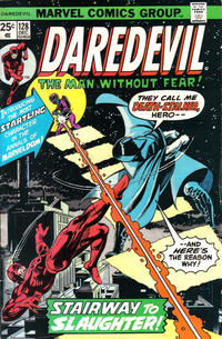 Cover Thumbnail for Daredevil (Marvel, 1964 series) #128