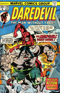 Cover Thumbnail for Daredevil (Marvel, 1964 series) #129