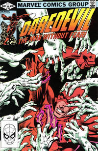 Cover for Daredevil (Marvel, 1964 series) #180 [Direct Edition]