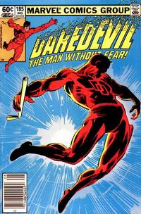 Cover Thumbnail for Daredevil (Marvel, 1964 series) #185