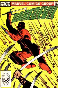 Cover Thumbnail for Daredevil (Marvel, 1964 series) #189 [Direct Edition]