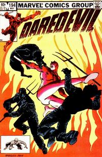 Cover Thumbnail for Daredevil (Marvel, 1964 series) #194 [Direct Edition]