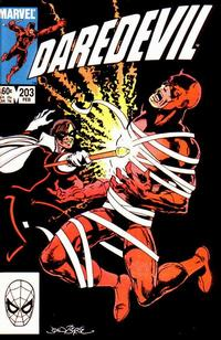 Cover Thumbnail for Daredevil (Marvel, 1964 series) #203 [Direct Edition]
