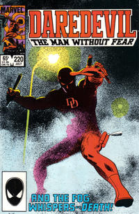 Cover Thumbnail for Daredevil (Marvel, 1964 series) #220 [Direct Edition]