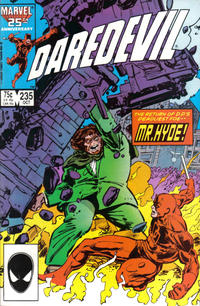 Cover Thumbnail for Daredevil (Marvel, 1964 series) #235 [Direct Edition]
