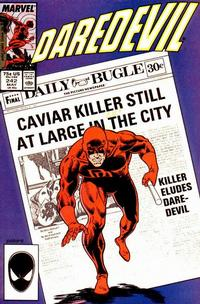 Cover Thumbnail for Daredevil (Marvel, 1964 series) #242