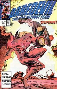 Cover Thumbnail for Daredevil (Marvel, 1964 series) #249 [Direct Edition]