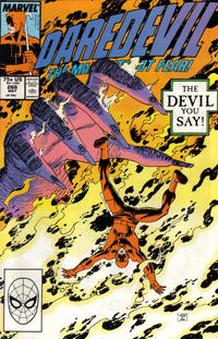 Cover Thumbnail for Daredevil (Marvel, 1964 series) #266 [Direct Edition]
